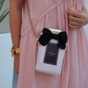 Kate Spade Bow Perfume Bottle Crossbody